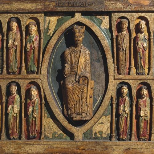 Frontal d'altar de Santa Maria de Taüll, Anònim, cap a 1200