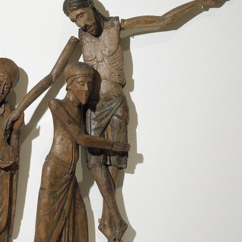 Anònim - Crist del Davallament de Santa Maria de Taüll - Segona meitat del segle XIII