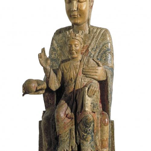 Anònim - Mare de Déu - Cap a 1200