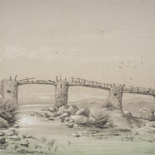 Modest Urgell - Pont vell - Cap a 1861