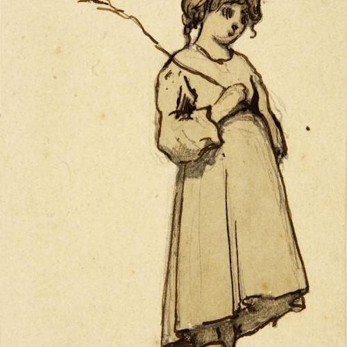 Modest Urgell - Nena camperola - Cap a 1861-1888