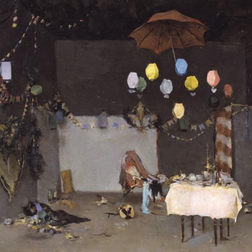 Ramon Casas - Interior de taller - París, hacia 1883