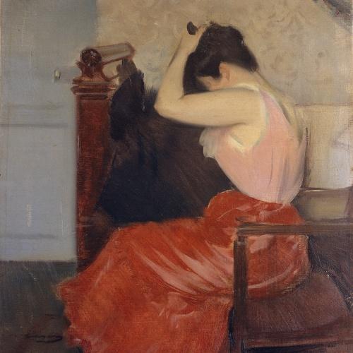 Ramon Casas - Study - Circa 1899