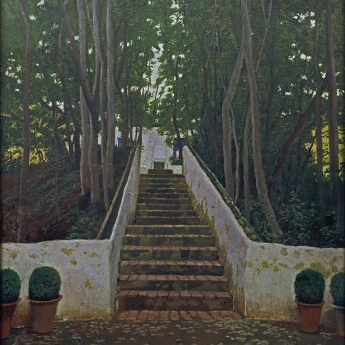 Santiago Rusiñol - Generalife - Granada,1909