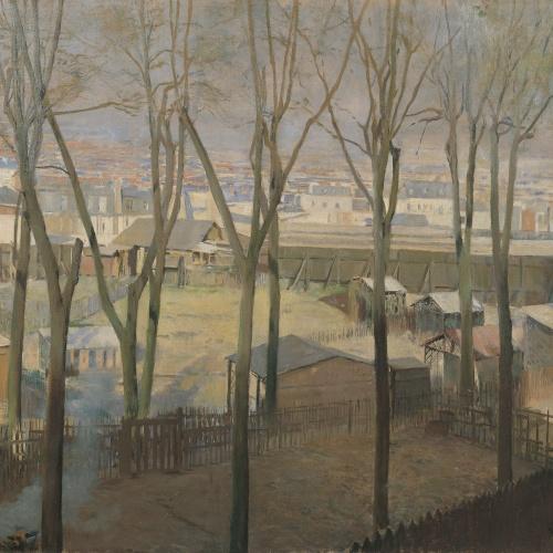 Santiago Rusiñol - La Butte - París, 1892