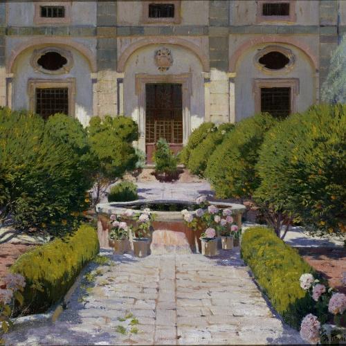Santiago Rusiñol - Claustre de Georges Sand - Mallorca, 1905