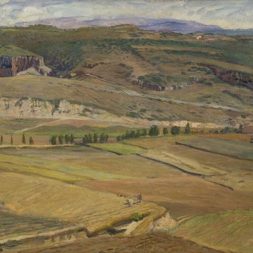 Francesc Labarta - Stubble Fields - 1923