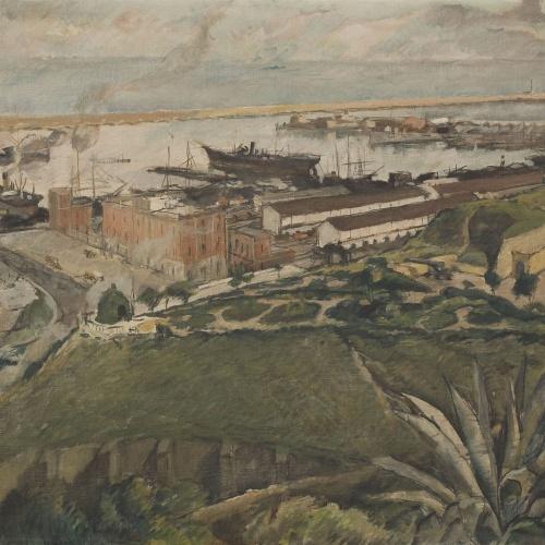 Francesc Labarta - Moll del Carbó (Barcelona) - 1930
