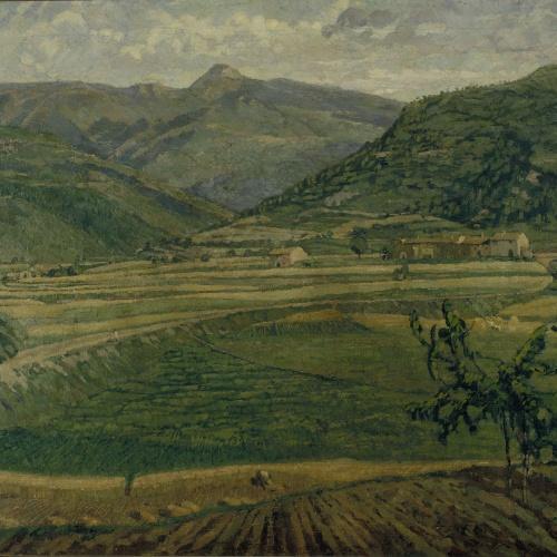 Francesc Labarta - Wheat Fields - 1922