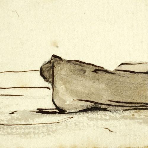 Modest Urgell - Barques a la platja - Cap a 1880