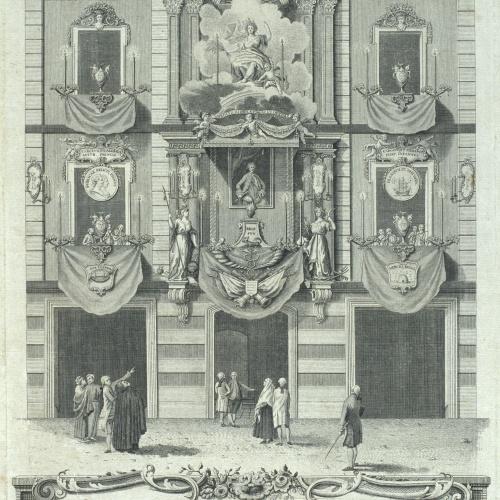 Agustí Sellent Torrents - Frontispici de la casa de Joan Pau Canals - Cap a 1783