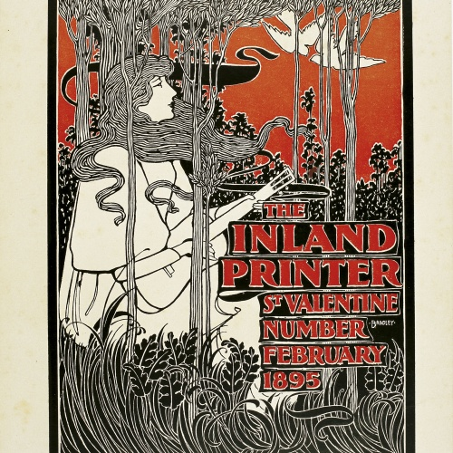 William Henry Bradley - The Inland Printer. St. Valentine Number - 1895