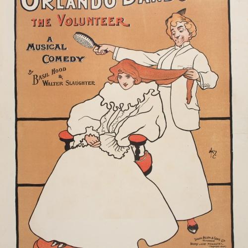 John Hassall - Orlando Dando The Volunteer - 1898