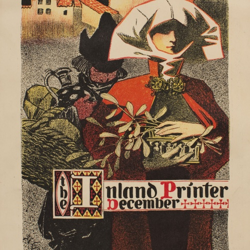 Joseph Christian Leyendecker - The Inland Printer. December - 1896