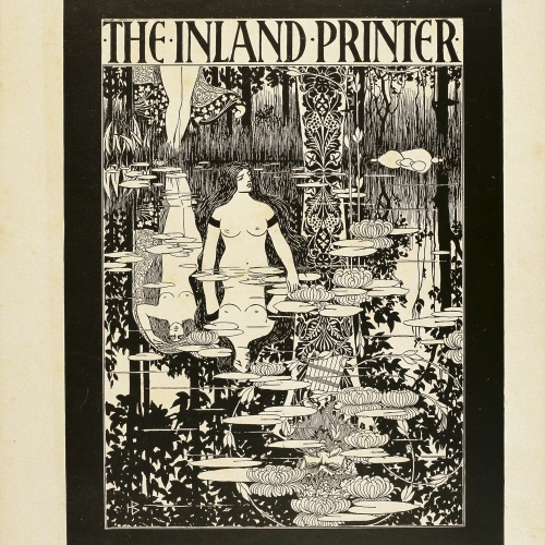 William Henry Bradley - The Inland Printer. July, 1894 - 1894