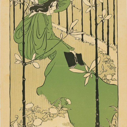 Ethel Reed - The House of the Trees and other Poems - 1895