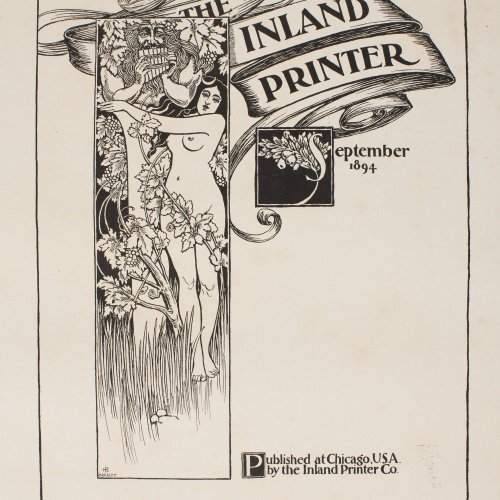 William Henry Bradley - The Inland Printer. September 1894 - 1894