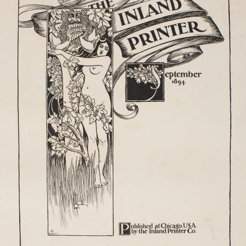 William Henry Bradley - The Inland Printer. September 1894 - 1894
