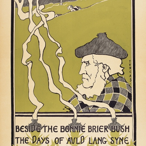 Jules Turcas - Beside the Bonnie Brier Bush. The Days of Auld Lang Syne - 1895