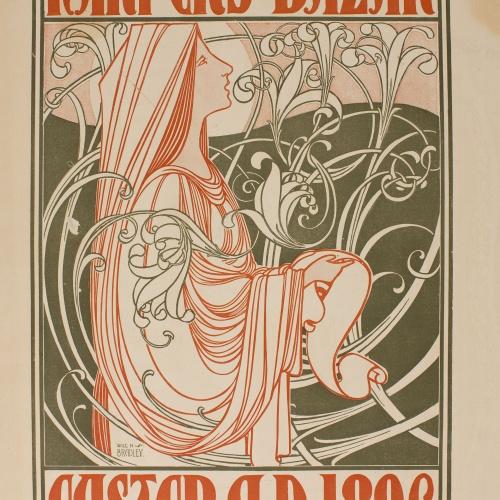 William Henry Bradley - Harper's Bazar. Easter A.D.1896 - 1896