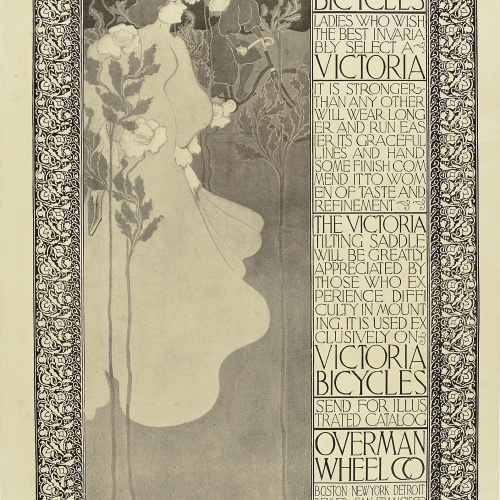 William Henry Bradley - Victoria Bicycles - Circa 1895