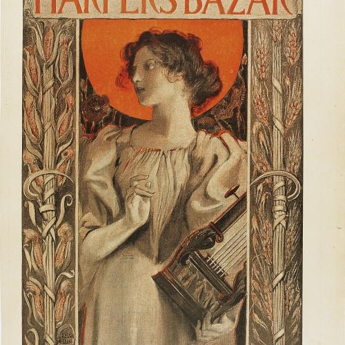 Charles Louis Hinton - Harper's Bazar - 1896