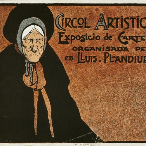 John Hassall - Circol Artistich. Exposicio de cartells organisada per en Lluís Plandiura - Cap a 1902