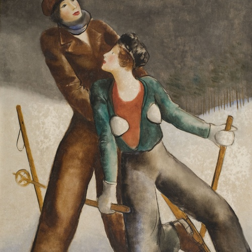 Pere Pruna - Esports d'hivern - 1930