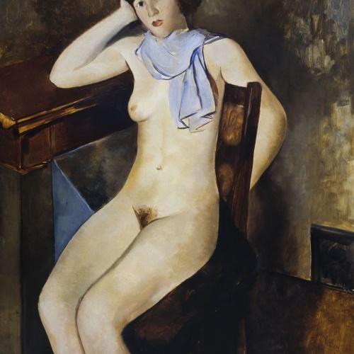 Pere Pruna - Dona nua - 1929