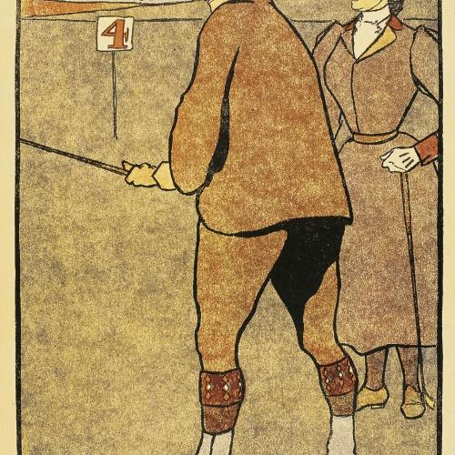 Edward Penfield - May (Golf Calendar) - 1899