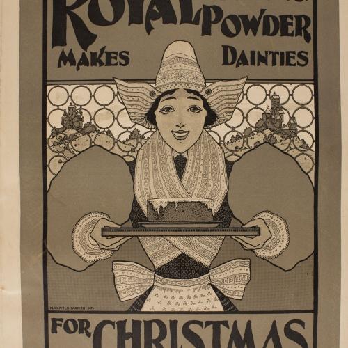 Maxfield Parrish - Royal Baking Powder - 1895