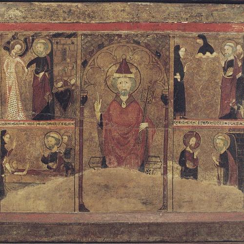 Anònim. Navarra o Aragó - Frontal de sant Pere - Primera meitat del segle XIV