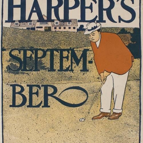 Edward Penfield - Harper's. September - 1898