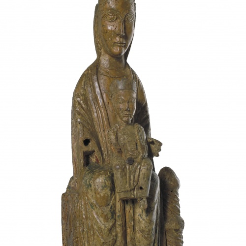 Anònim - Virgin from Pruneres - Second half of 12th century