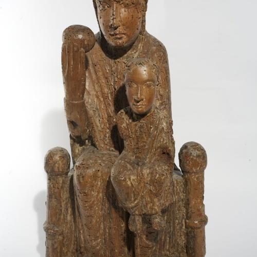 Anònim - Mare de Déu - Segona meitat del segle XII