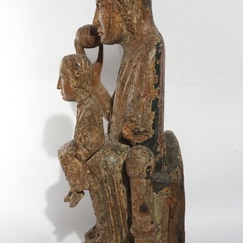 Anònim - Mare de Déu - Segona meitat del segle XII [2]