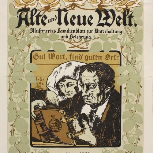 Anònim - Alte und Neue Welt - 1898