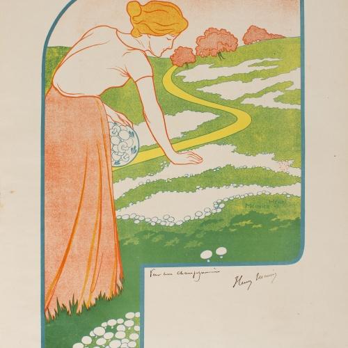 Henri Meunier - [Grandes champignonnières d'Orp (Belgique)] - 1897