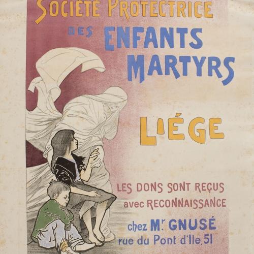 Émile Berchmans - Société Protectrice des Enfants Martyrs - Cap a 1897