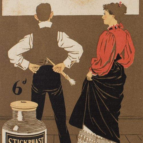 Philip William May - Stickphast paste - Circa 1896