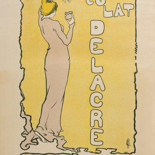 Gaston Bouy - Chocolat Delacre - Anterior a 1897