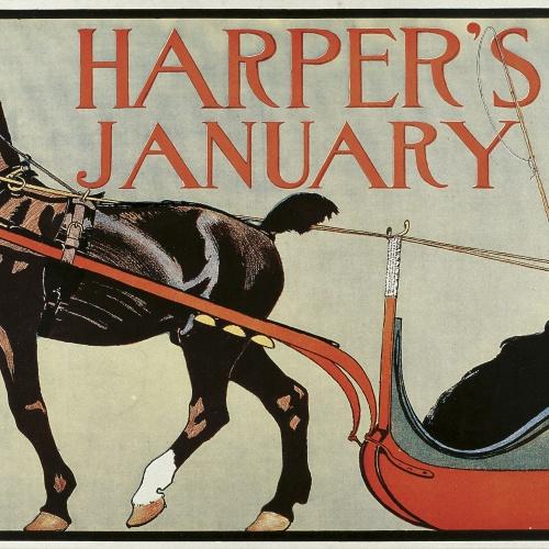 Edward Penfield - Harper's. January - 1899