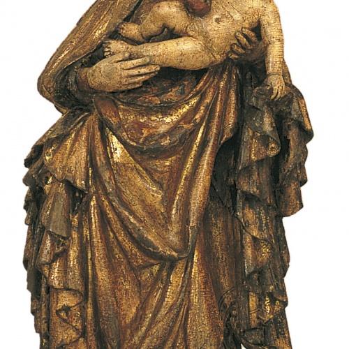 Anònim. Bohèmia - Mare de Déu - Cap a 1400