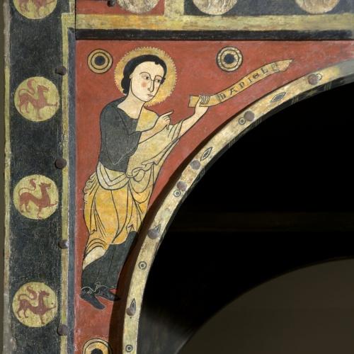 Anònim. Catalunya. Taller de la Seu d'Urgell del 1200 - Profeta Daniel - Primer terç del segle XIII