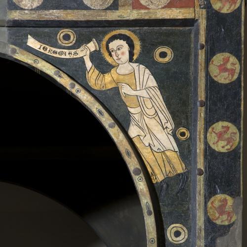 Anònim. Catalunya. Taller de la Seu d'Urgell del 1200 - Profeta Jeremies - Primer terç del segle XIII