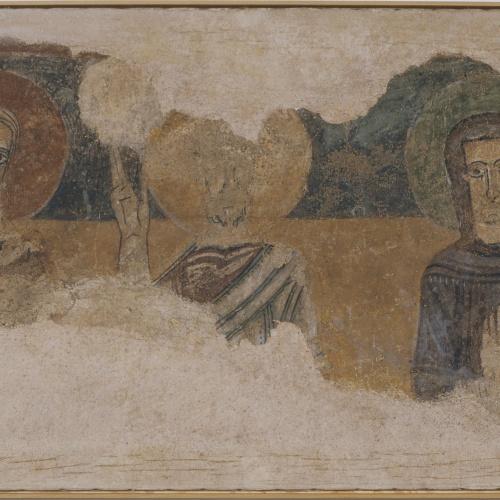 Anònim. Catalunya - Apòstols i Maria d'Argolell - Primera meitat del segle XII