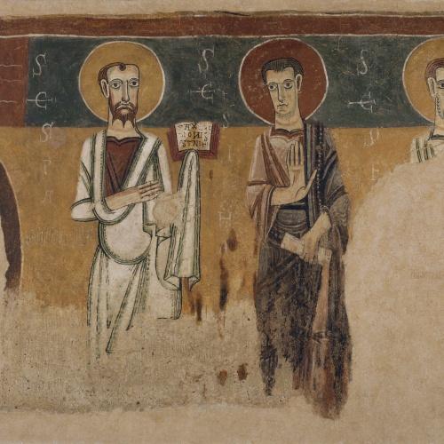 Anònim. Catalunya - Apòstols d'Argolell - Primera meitat del segle XII