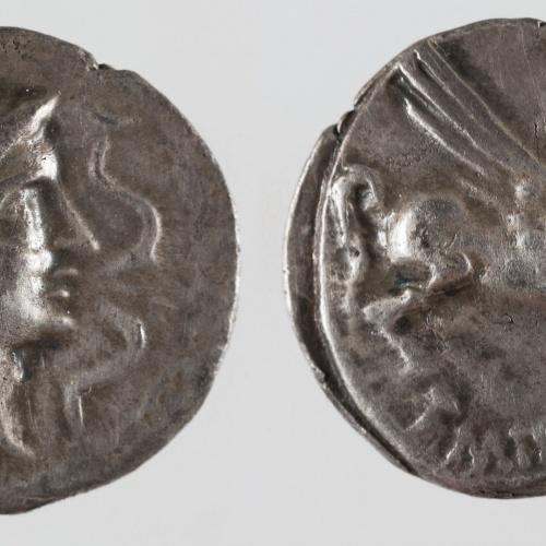 Emporion - Dracma d'Emporion - Finals del segle II aC