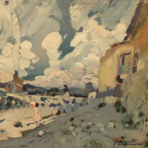 Joaquim Mir - Paisatge (Maspujols. Camp de Tarragona) - 1907-1910