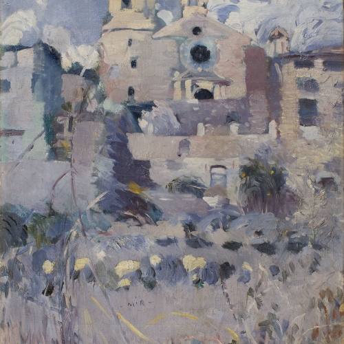 Joaquim Mir - The Parish Church of Maspujols - 1907-1910